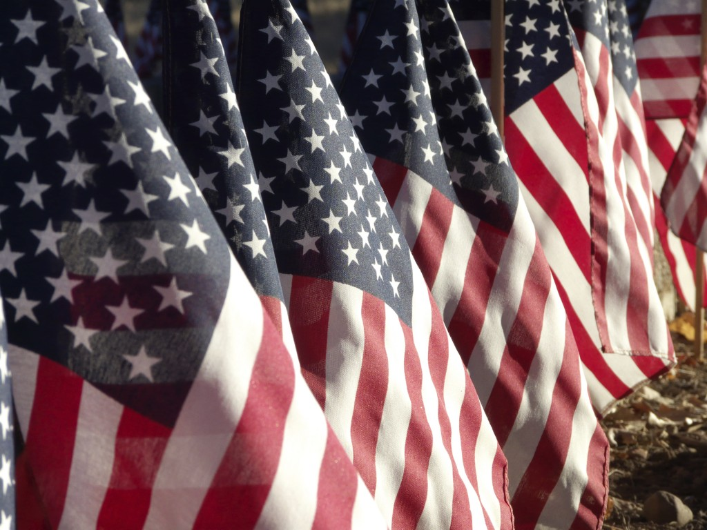 American-Flags-Veterans-Day